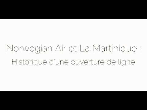 Norwegian Air et la Martinique