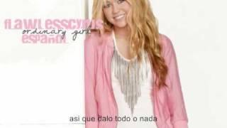 Hannah Montana Forever - Ordinary Girl (español)