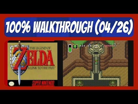Zelda: A Link To The Past #4: Ice Cavern + Desert Of Mystery - 100% Walkthrough (4/26)
