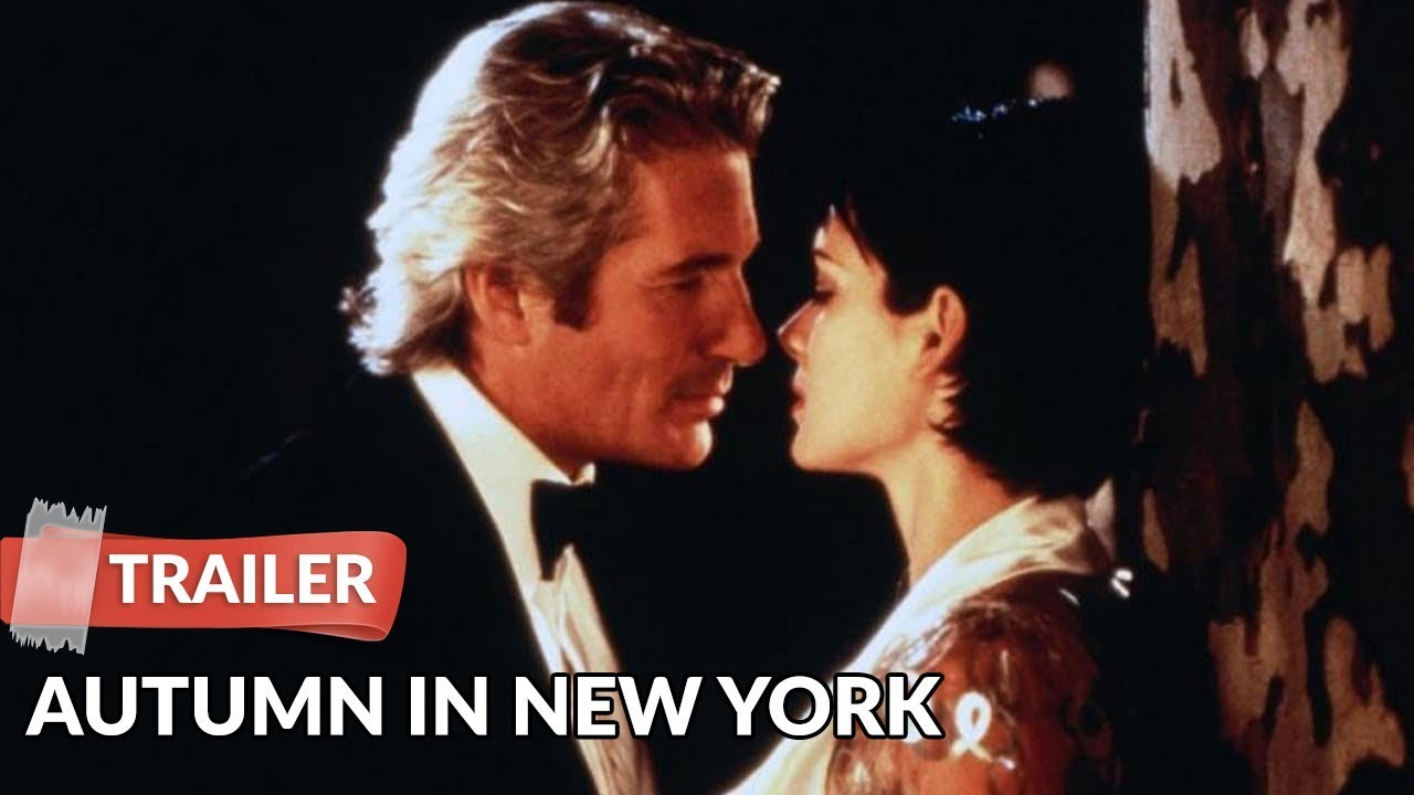 Autumn In New York 2000 Trailer Hd Richard Gere Winona Ryder Youtube