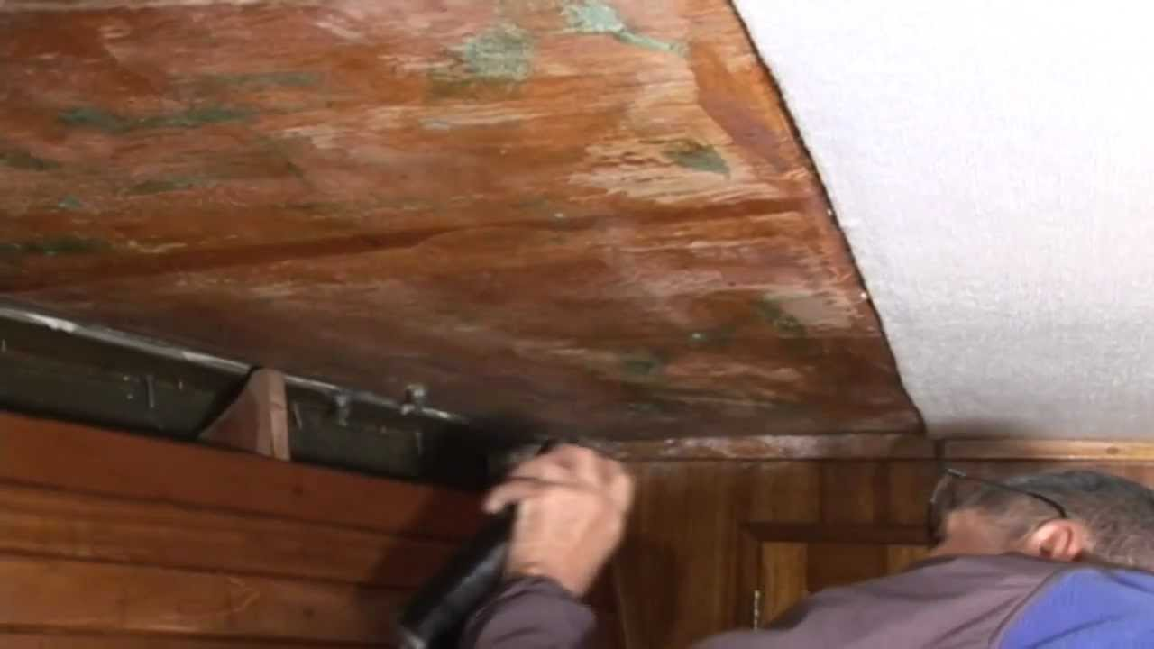 Installing Carpet Style Headliner Hull Liner In A Boat Youtube