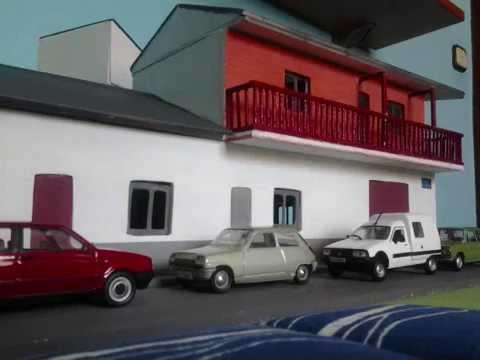 Maqueta de una casa de 2 plantas marqueter a youtube - Casas de marqueteria ...