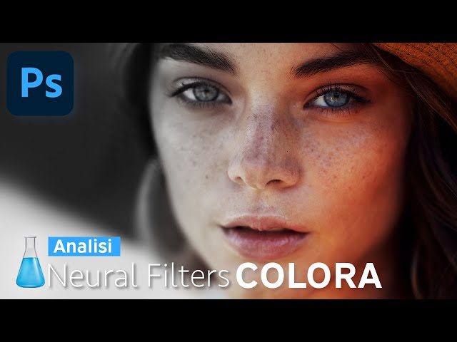 Photoshop Neural Filters COLORA - Analisi