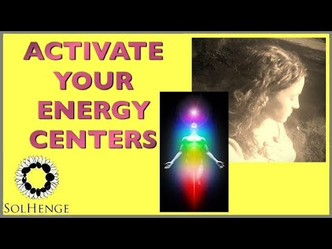 JOE DISPENZA BLESSING OF THE ENERGY CENTERS-LONGER VERSION WITH MUSIC