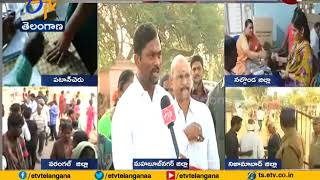 Mahabubnagar Collector Ronald Rose Interview | Over Polling Station Inspected