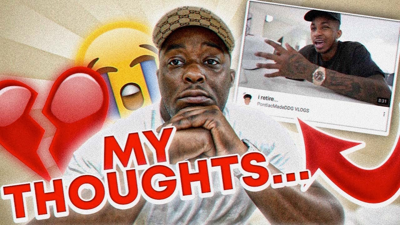 MY THOUGHTS On My Brother Retiring From YOUTUBE !!!