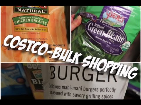 Costco Grocery Haul || Saving Money Buying in Bulk