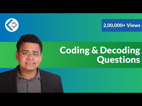 Coding & Decoding Questions in Logical Reasoning (CAT/CMAT/GRE/GMAT)