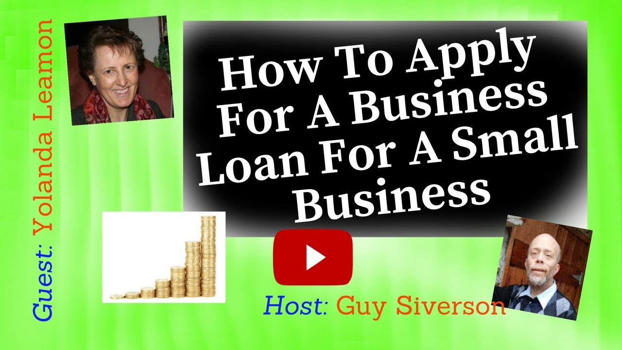 how to apply for loan to start business