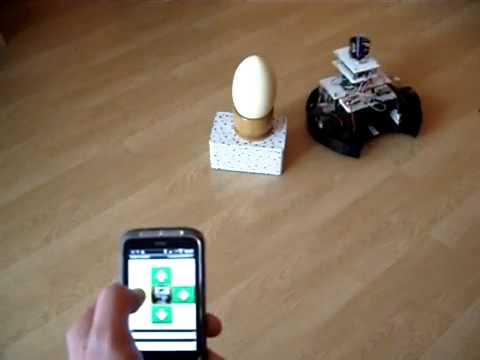 Techkritya - Robot Vacuum Cleaner Hack, Testing Pi Camera Motion Control