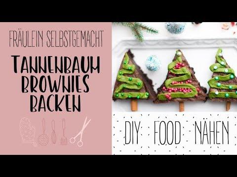 Rezept Tannenbaum.Tannenbaum Brownies In Vier Schritten Einfach Selber Machen