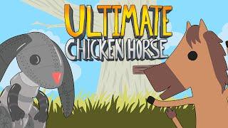 Ultimate Chicken Horse - ПЕРС КИБЕР ЗАЯЦ!