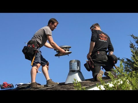 how-to-remove-a-metal-chimney-and-repair-the-roof