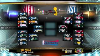 NBA 2K13 My Career - Live Streaming Conf Finals June 2nd at 2PM Eastern