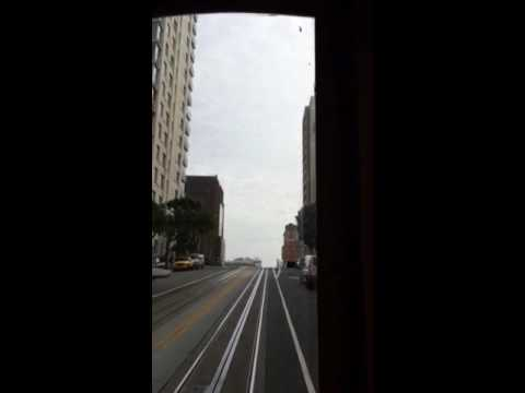 Cable Car Tour along California Streets