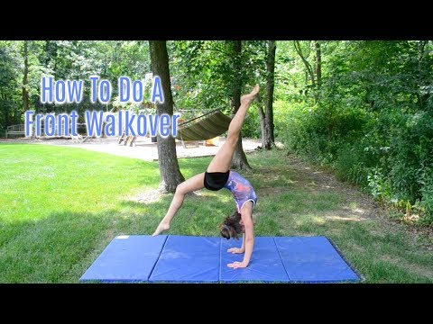 How To Do A Front Walkover!! Everyday Gymnastics