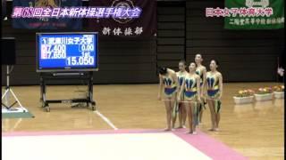 2015全日本新体操女子団体種目別決勝-リボン5