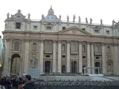 MJ at the Vatican Part 1