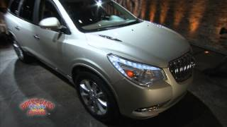 2013 Buick Enclave Highlights at NY Auto Show