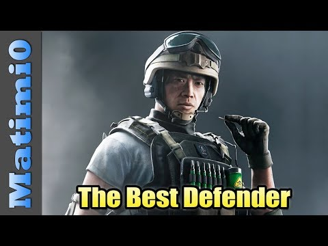 The Best Defender - Rainbow Six Siege