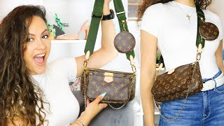 Obsessed Louis Vuitton Multi Pochette Accessoires First Impressions Youtube