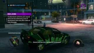 Saints Row The Third GamePlay on PC Maxed Out Settings [1080p]