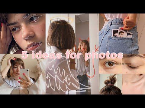 5 IDEAS FOR PHOTOS//5 ИДЕЙ ДЛЯ ФОТО ДОМА