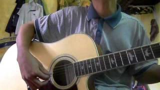 vet nang cuoi troi guitar