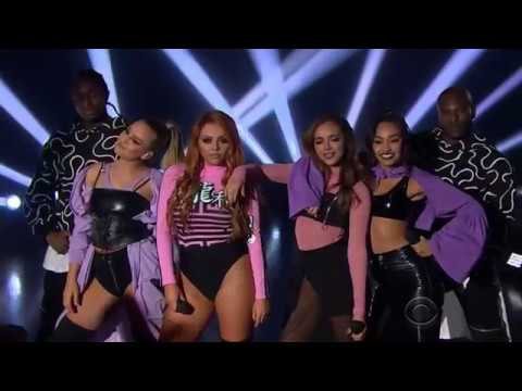 Little Mix Performing Touch On The Late Late Show With James Corden 3/29/17