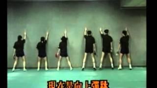 China Table Tennis Secret Skills --- Footwork