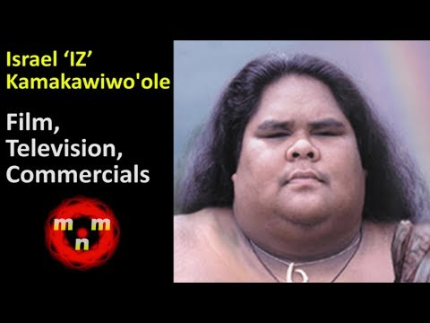 🌈 Israel 'IZ' Kamakawiwo'ole (1959 - 1997) Film, Television & Video Specials/Commercials 🌈