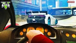 GTA 5 First Person Gameplay | RACING AND CRASHING IN FIRST PERSON | GTA V Online Funny Moments