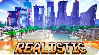 Minecraft   Greenfield City   The Most Realistic City In Minecraft