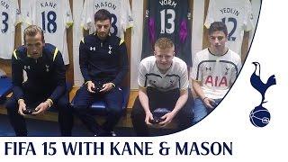 FIFA 15 Challenge | Harry Kane & Ryan Mason vs Spurs Fans