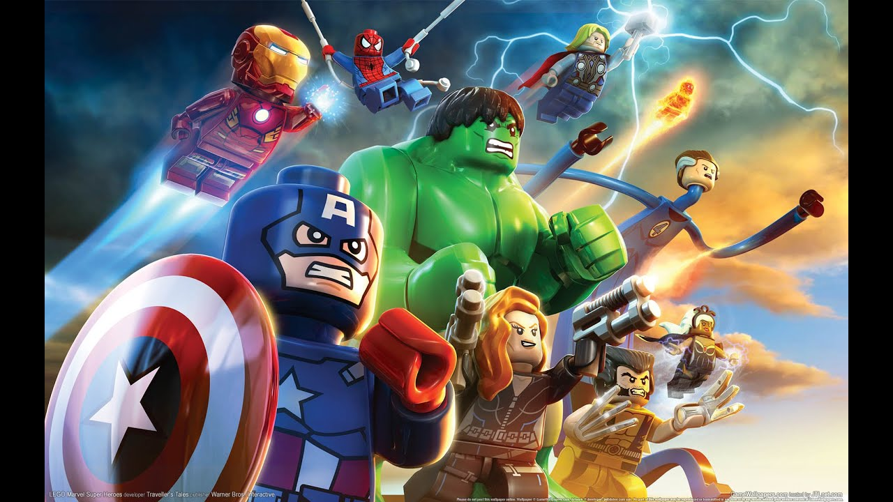LEGO Marvel Super Heroes 3D Iron Man, Hulk and Spiderman