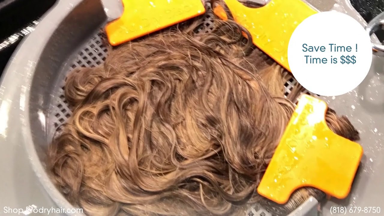 How Long Does It Take You To Dry Your Hair Extensions And Wigs