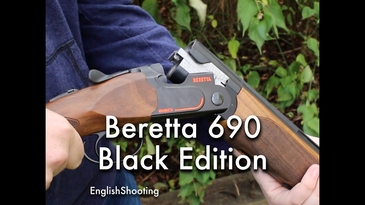 Beretta 690 Sporting Black Edition 30