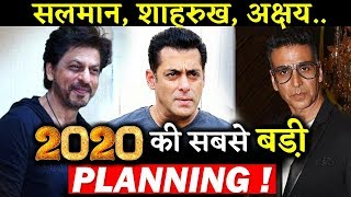 This Production House Is Planning Something Big With Salman ,Shahrukh  And Akshay Kumar in 2020?