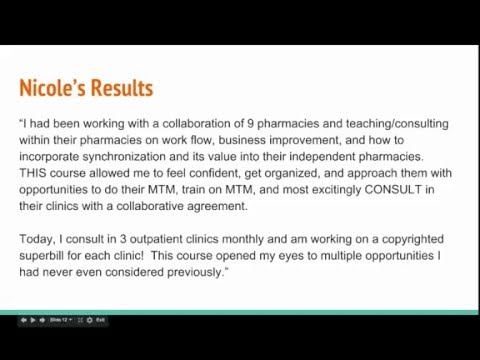 "Pharmapreneur Academy ""Results"" Webinar with BONUS Material"