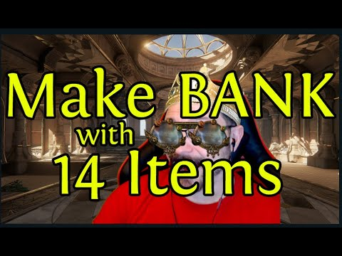 Make BANK with 14 Expensive Items in Legion League - Don't