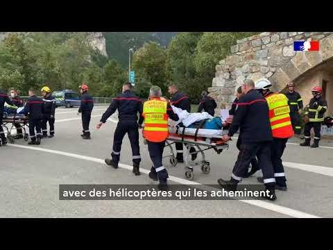 #TempêteAlex : Les résidents d'EHPAD évacués vers d'autres établissements des Alpes-Maritimes
