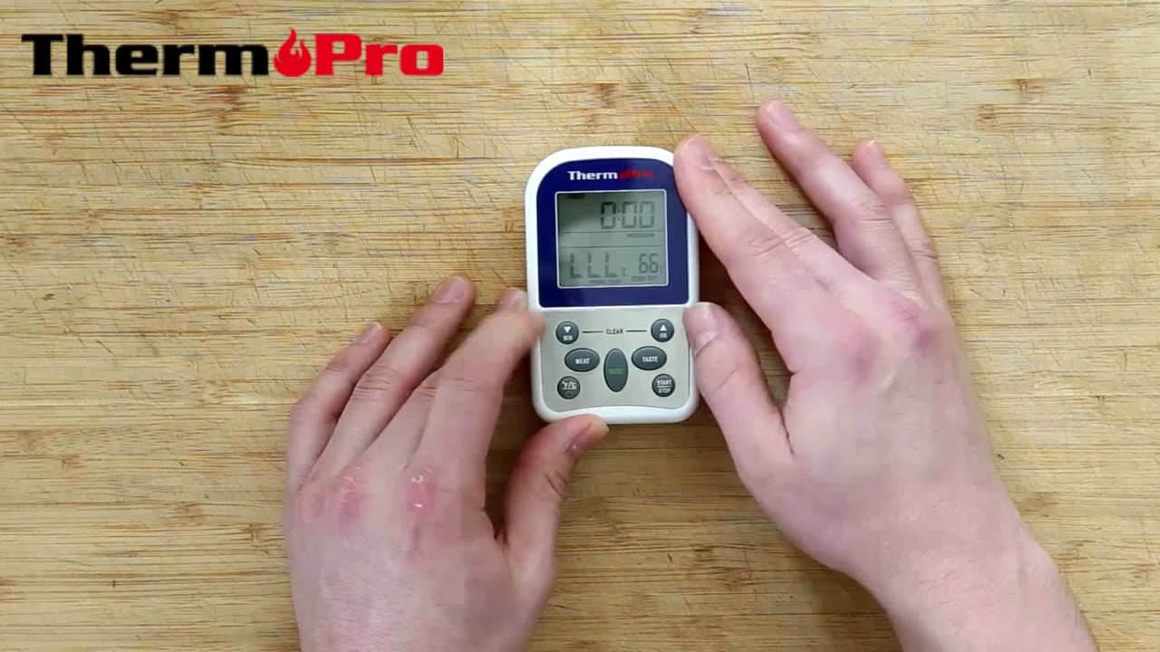 Thermopro Tp 11 Digital Wireless Thermometer Introduction Youtube