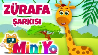 Zürafa Şarkısı | Miniyo Çocuk Şarkıları