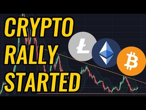 Did The Next Bitcoin & Crypto Market Rally Just Start? BTC, ETH, LTC, & Cryptocurrency News!