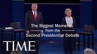 The Biggest Moments From the 2nd Presidential Debate   TIME