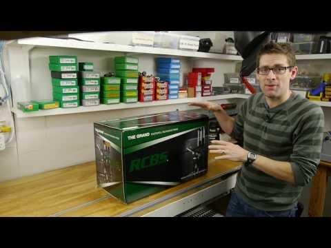 RCBS GRAND Shotshell Reloading Press: Unboxing