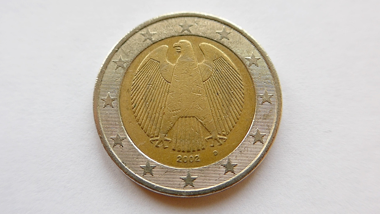 2 euro coin germany 2002 d m nchen youtube. Black Bedroom Furniture Sets. Home Design Ideas