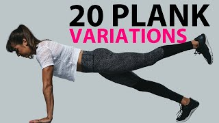 20 Plank Exercise Variations - Moves For A Plank Workout
