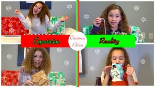 Christmas Time - Expectation vs Reality (Haschak Sisters)