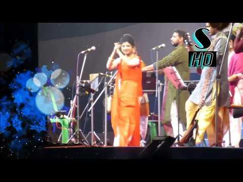Aditi Munshi singing kirtan At Haldia HD